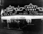 West Coast Theatre Reopening Night 1935